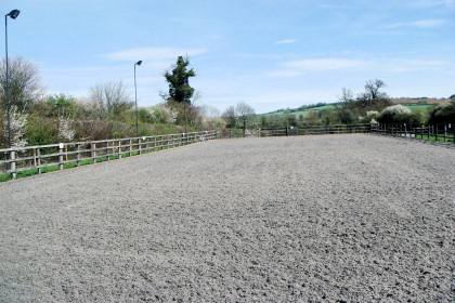Arena hire from Marsh Farm Livery.
